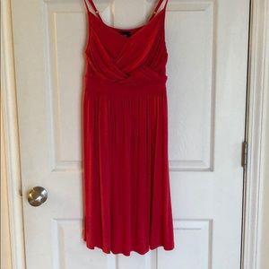 Mossimo pink tank dress size medium